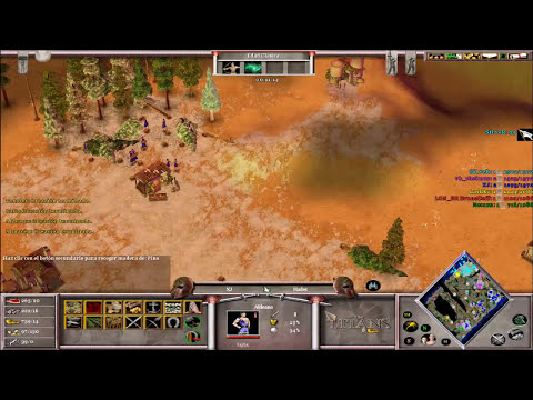 Jugando Age of Mythology The Titans Anatolia Map Gameranger Parte 1