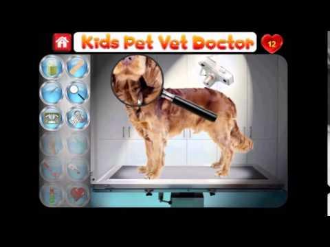Kids Pet Vet Doctor FREE APP Promo Video