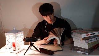 """【NO TALKING】Studying ASMR   """"같이 공부할까요?""""   연필소리(Writing)"""