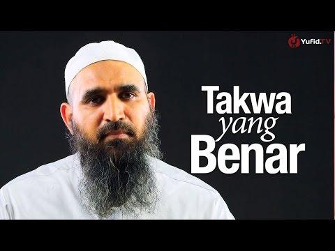 Ceramah Singkat: Takwa Yang Benar - Syaikh Dr. Malik Husain Sya'ban.