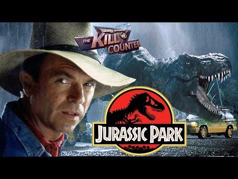 JURASSIC PARK - The Kill Counter (1993) Steven Spielberg, Michael Crichton Dinosaur Adventure Movie