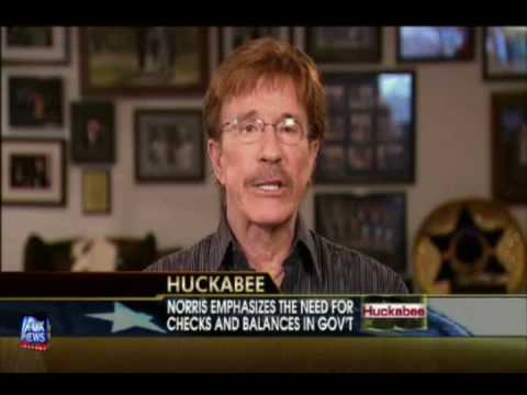 Chuck Norris on Huckabee: 26 September 2009