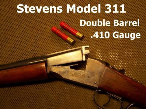 Stevens Model 311 .410 Double Barrel Shotgun