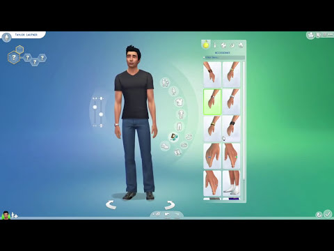 The Sims 4 CAS Demo — Taylor Lautner / Jacob Twilight — Celebrity