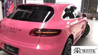 IRISTEK vinyl car wrap suppliers High Glossy Car Wrapping Vinyl---High Glossy Pink