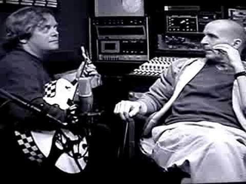 Michael Sadler&Ian Crichton(Saga) joking at Interview Pt.2