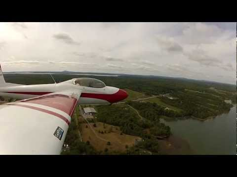 Schweizer SGS 2-32 over Bar Harbor, ME and Acadia Nat'l Park (KBHB) Takeoff/Tow 1/6 HD