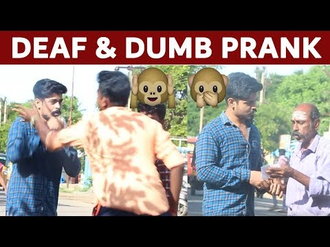 Acting Deaf & Dumb Prank Funny Diwali Special Show Pranks in India