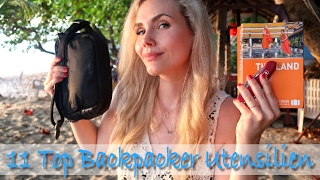 TOP 11 BACKPACKER UTENSILIEN | by Eat Tell Love
