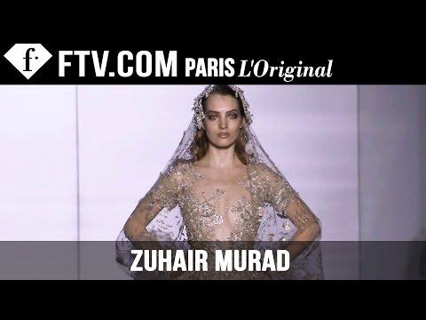 Zuhair Murad Show Spring summer 2015 | Paris Couture Fashion Week | Fashiontv video