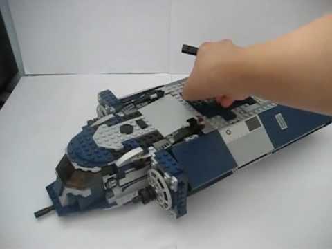 Lego star wars m 5 angriffspanzer moc youtube - Croiseur star wars lego ...