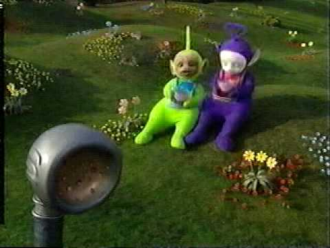 Nursery Rhyme: Little Miss Muffet By The Teletubbies! video