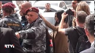 Ким Кардашьян в Армении встретили как королеву