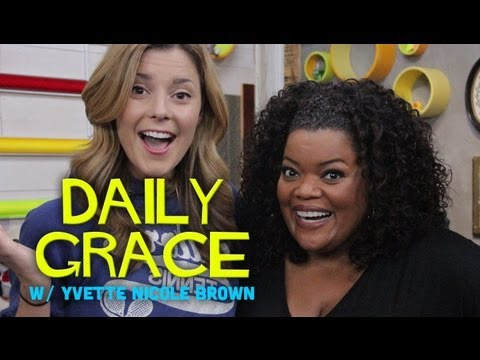 Yvette Nicole Brown (Community) with DailyGrace LIVE - 10/23/12 (Full Ep)