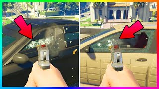 "GTA 5 NEW BULLETPROOF & ARMORED CAR TESTS - ""FINANCE & FELONY"" DLC CAR WARNINGS + BUYER BEWARE!"