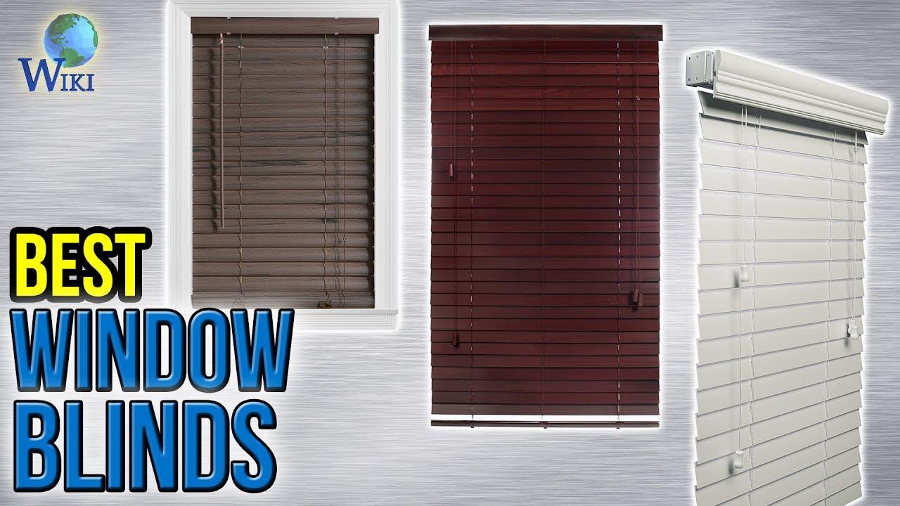 8 Best Window Blinds 2017 - YouTube