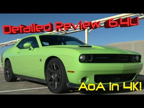 2015 Dodge Challenger R t Scat Pack Detailed Review And Road Test In 4k video