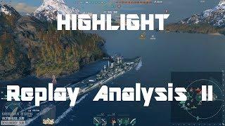 Highlight: Replay Analysis 2 - Hipper, Des Moines, Kagero & Missouri