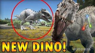 Ark Survival Evolved: Indominus Rex Mod NEW DINO Review