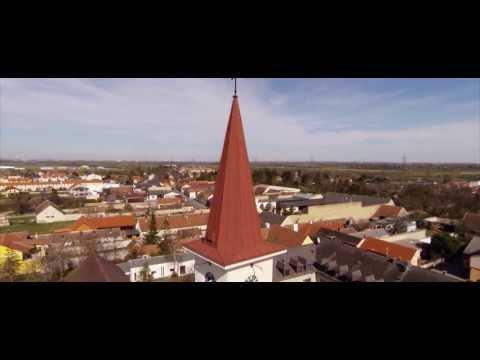 Pfarrkirche Münchendorf Flugaufnahmen mit DJI Phantom