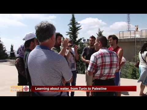 Learning about water, from Turin to Palestine