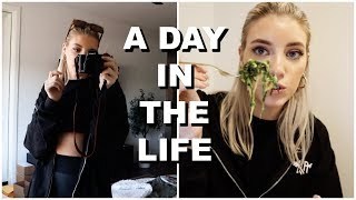 A DAY IN THE LIFE: depoping, workouts & cooking!