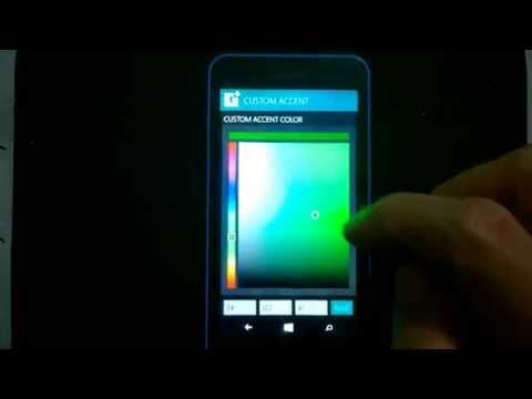 Lumia 630 interop/unlock CustomPFD, Accent Color, Lollipop Lockscreen