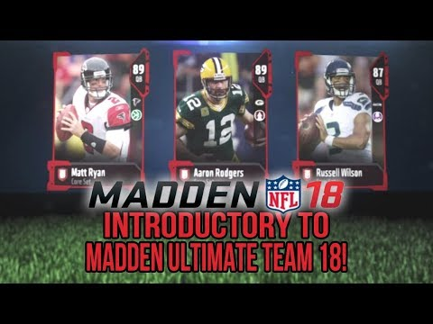 Madden 18 Ultimate Team :: Introductory VIdeo To Mut 18! :: Madden 18 Ultimate Team