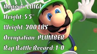 Luigi vs Tails ultimate rap battle season 1 episode 3 I dont own these videos