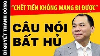 30 Câu Nói bất Hủ Thức Tỉnh Dân Tộc Việt Nam Của Tỷ Phú Phạm Nhật Vượng| Nghe Sớm Giàu Sớm