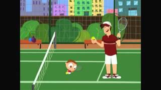 Disney Junior España | Jota Jota Quiere Hacer Deporte: tenis