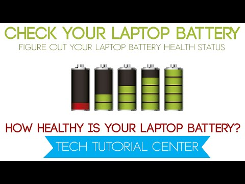 How to check the Health of your Laptop Battery   Important For Every Laptop User