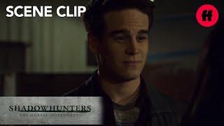Shadowhunters | Season 2 Episode 17: Simon And Izzy Run Into Maia | Freeform