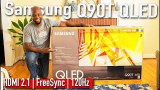 Samsung's Most BALANCED 2020 QLED TV | Q90T Unboxing, Set-up & Demo