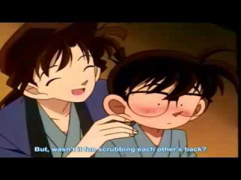 Detective Conan& Ran tooked a bath.flv
