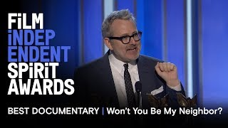 Download MORGAN NEVILLE wins Best Documentary for WONT YOU BE MY NEIGHBOR at the 2019 Spirit Awards MP3