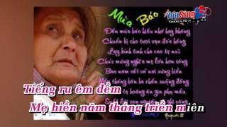 KaraOke Lòng Mẹ - Thuỳ Trang [ Full Beat Gốc ]
