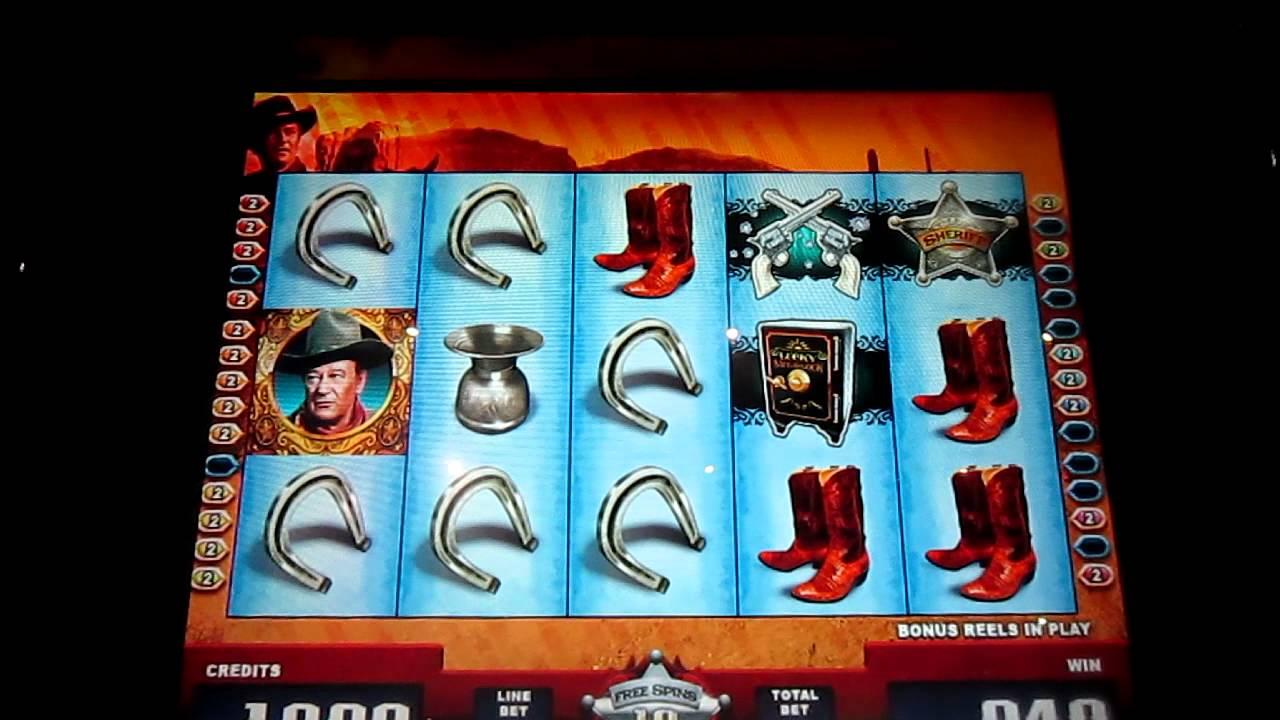 John wayne slot machine online