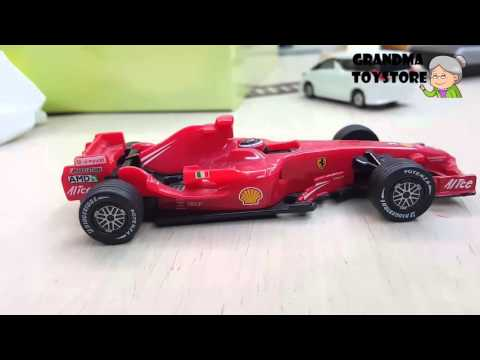 Unboxing TOYS Review/Demos - Formula F1 engine shell race car