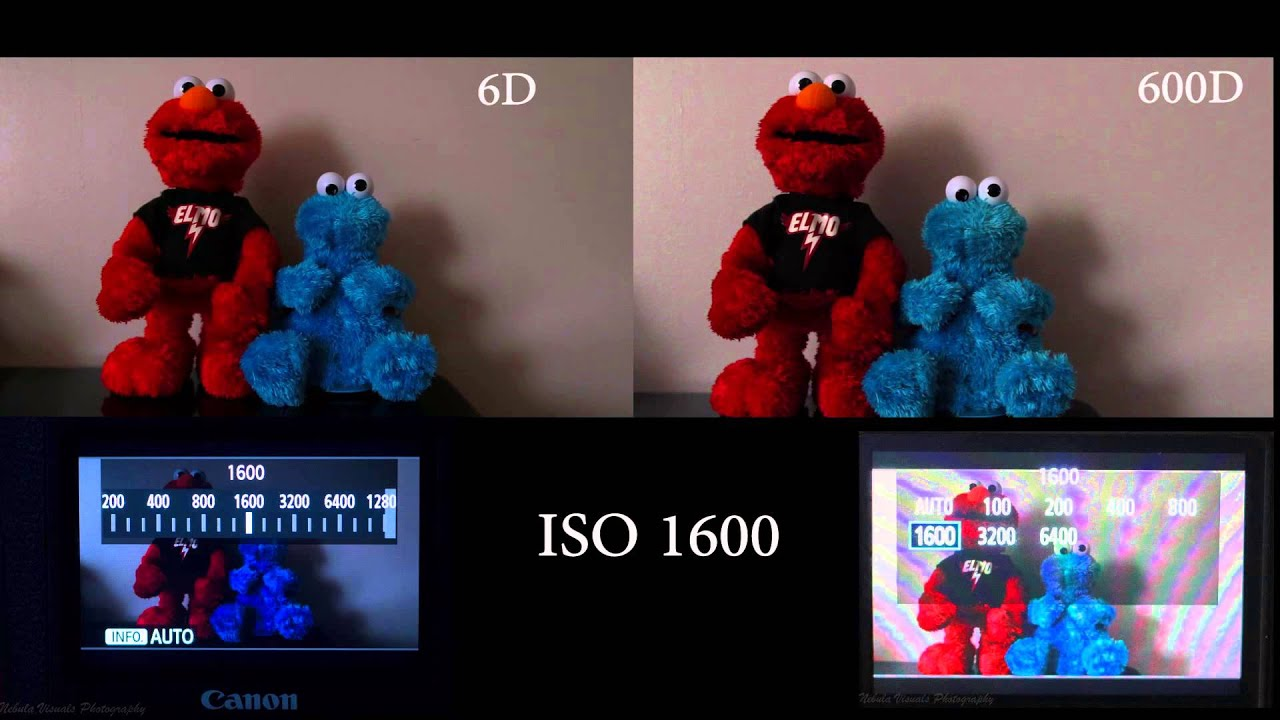 Canon 6d Vs Canon 600d Low Light Video Test Iso Youtube
