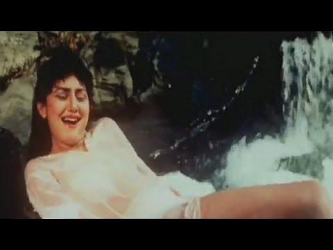 Girl enjoying the water fall - Jungle Love - Scene 2