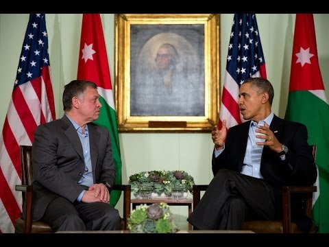 President Obama's Bilateral Meeting with His Majesty King Abdullah II of Jordan