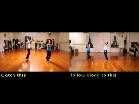 Learn - GANGNAM STYLE - Bollywood Choreography - Flashmob at Jai Ho! Dance Party