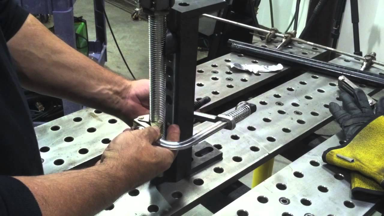 Welding Project Fabricating Shop Stool With Stronghand