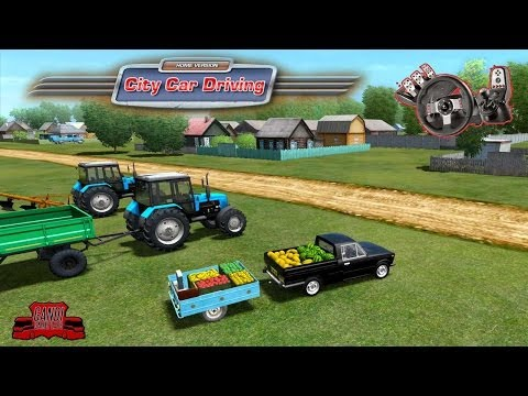 City Car Driving - O carro das Frutas! G27