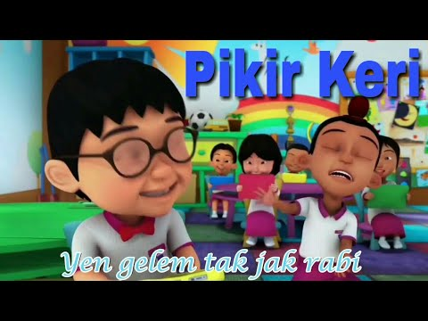 Lagu Pikir Keri - Nella Kharisma   Unofficial Music Video Versi Upin Ipin Parody Full Lirik