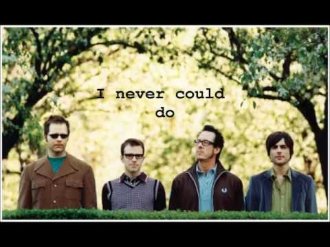Say It Ain't So lyrics Weezer