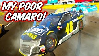 SURE DIDN'T TAKE LONG TO WRECK! // NASCAR Heat 2 Charlotte Roval Racing [2018 Update]
