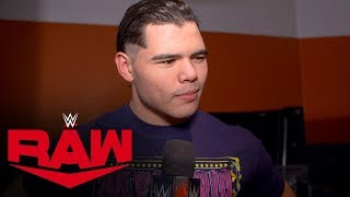 Humberto wants Andrade at Royal Rumble: Raw Exclusive, Jan. 20, 2020