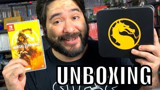 LIMITED EDITION MK11 TIN CAN! + Unboxing Mortal Kombat 11 for Nintendo Switch  | 8-Bit Eric